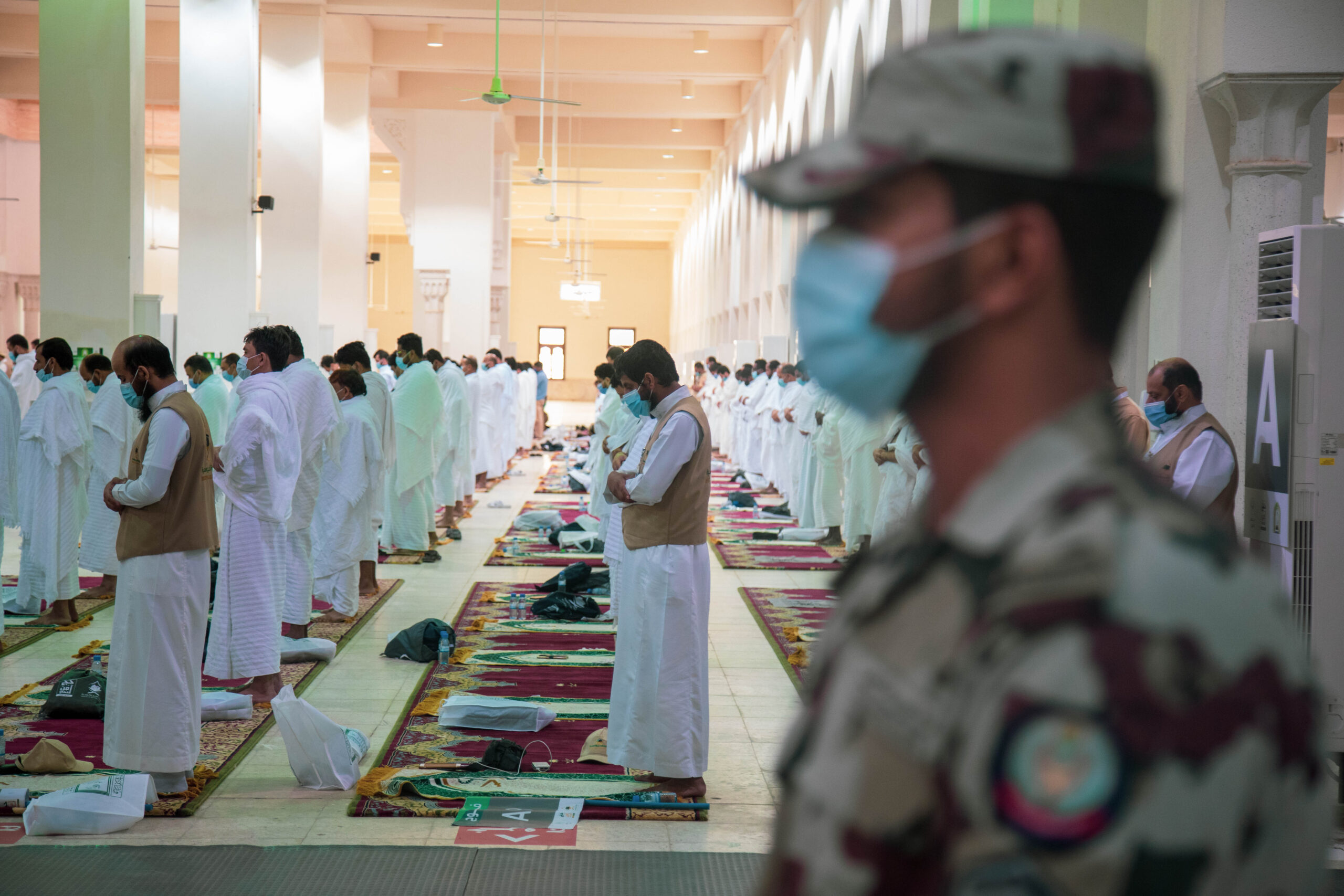 Hajj1441 - 60,000 personnel serve pilgrims from 160 countries